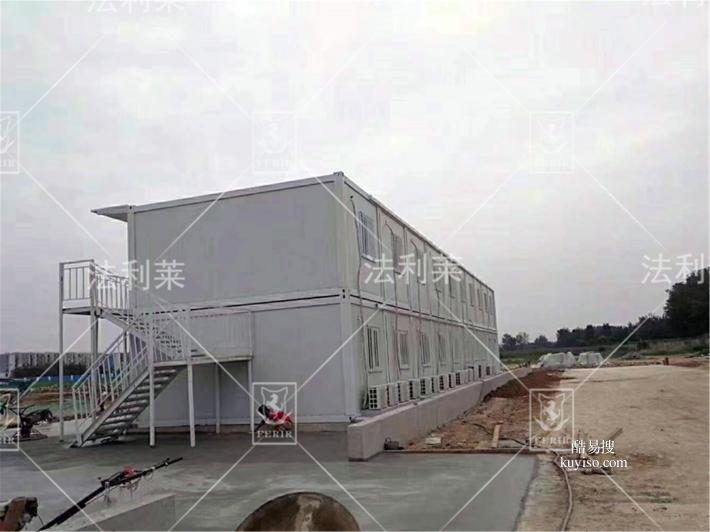 A級防火全北京集裝箱房 工地住人臨時辦公室提供一站式服務產品圖